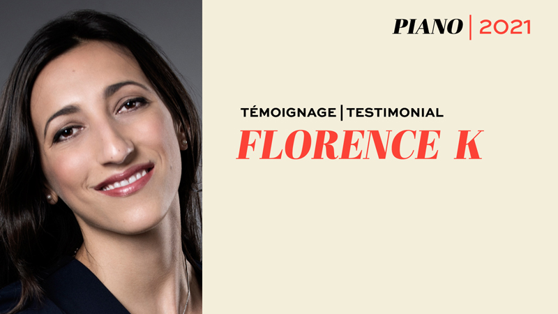 Florence K, pianiste