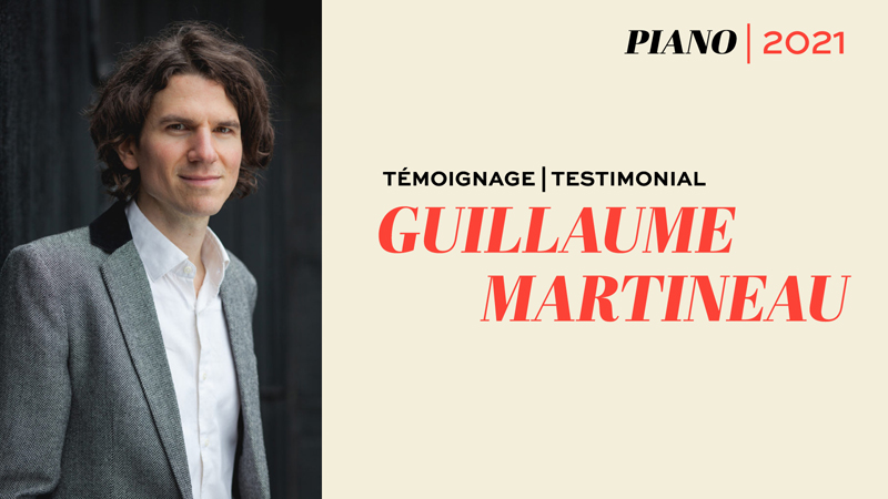 Guillaume Martineau, pianiste